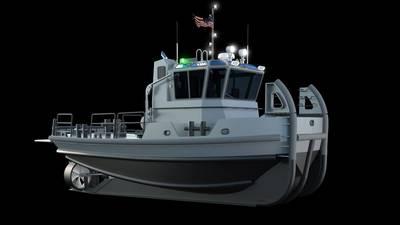Representación que muestra el tirón arriba y debajo de la línea de flotación (Imagen cortesía de la Marina de los EE. UU.)