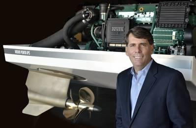 Ron Huibers, Präsident, Volvo Penta Amerikas. Foto: Ron Huibers