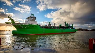 Schelde wurde 2017 an DEME geliefert (Foto: Royal IHC)