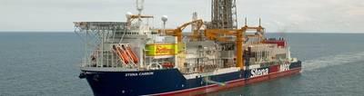 Stena Carron es el primer buque de perforación que recibe el taladro de anotación (MPD) de DNV GL. Foto: DNV GL
