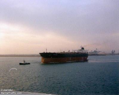 The Tanker riah (صورة الملف: CREDIT MarineTraffic.com / © Marinko)