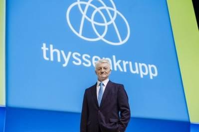 Thyssenkrupp الرئيس التنفيذي هاينريش Hiesinger. © thyssenkrupp AG