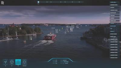 Trailblazers: जबकि डिजिटलकरण अभी भी समुद्री में अपने बचपन में है, रोल्स-रॉयस जैसे कुछ स्पष्ट नेता हैं, जिस तरह से मार्गदर्शन करते हैं। (छवि: रोल्स-रॉयस)