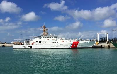 USCGC Richard Snyder em Key West, na Flórida (Foto: estaleiros Bollinger)