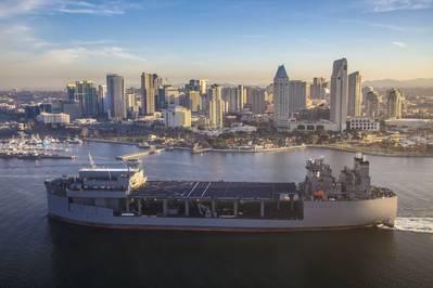 USNS Хершель «Вуди» Уильямс (Фото: NASSCO)