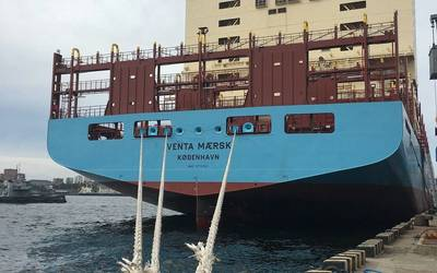 Venta Maersk. Foto: El Grupo Maersk