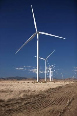 archivo Imagen: instalación típica de turbina eólica Vestas. CRÉDITO: Vestas