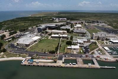 O campus da Texas A & M Maritime Acaemy (CREDIT TAMUG)
