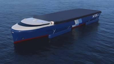 El conceptual NYK EcoShip (CREDIT: NYK)