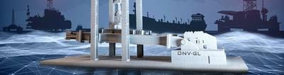 La fabricación aditiva es un término que abarca los procesos industriales que crean objetos tridimensionales mediante la adición de capas de material. Imagen: DNV GL