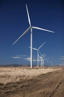 file الصورة: تركيب توربين فيستاس الرياح نموذجية. الائتمان: فيستاس