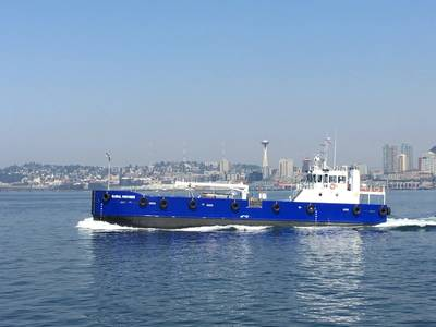El nuevo proveedor global de buques de abastecimiento de combustible ha sido entregado a Maxum Petroleum para su operación en el noroeste del Pacífico. (Foto: EBDG)
