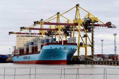 """""""Ich denke, diese Investition ist ein starkes Signal für die Arten von Technologien, die in der Zukunft die Schifffahrtsindustrie bestimmen werden"""", sagte P. Michael A. Rodey, Senior Manager von AP Moller-Maersk. Im ersten Quartal wird Sea Machines an Bord eines der neu gebauten Containerschiffe der Eisklasse von AP Moller-Maersk mit dem Test seiner Wahrnehmungs- und Situationsbewusstsein-Technologie beginnen. Bild: Seemaschinen"""