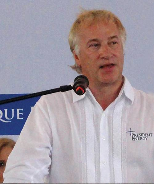 Peter Levine - Chairman of President Energy in Paraguay. (Photo President Energy)