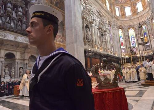 Jolly Nero 1st anniversary mass in Genoa (Courtesy Apostleship of the Sea)