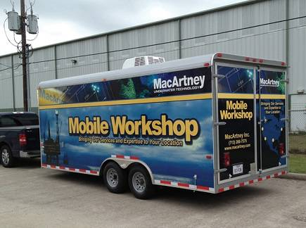 MacArtney Mobile Workshop