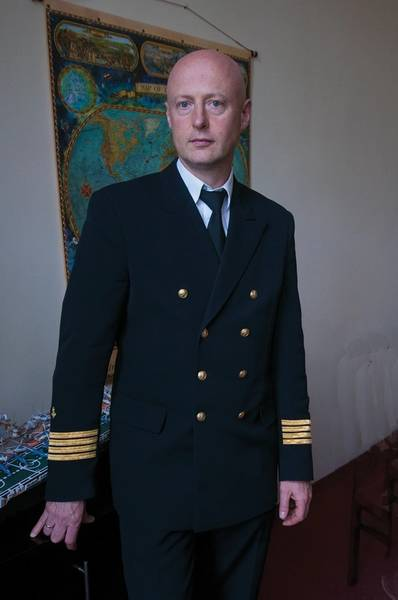 Deputy Rector for Maritime Affairs, Capt. Andrzej Bak, spent considerable time at sea both before and after earning a PhD at the university.
