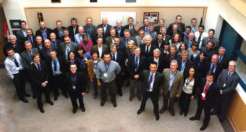 Representatives of the ISO's Technical Committee on Arctic Operations attended meetings in St. John's, Newfoundland and Labrador.)