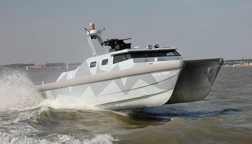 CTruk THOR Twin Hulled Offshore Raider