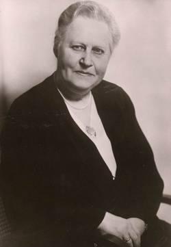 Caroline Oetker, 1867-1945.