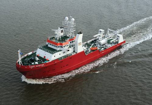 "A Fassmer build 65m Offshore vessel ""Fugro Searcher"""