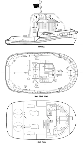 General-Arrangement of RAscal 1500