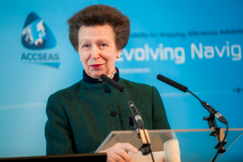 HRH The Princess Royal at the ACCSEAS Second Annual Conference