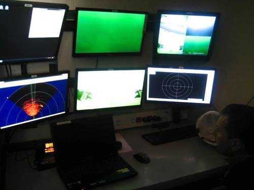 ACSM control cabin. (Photo: Saab Seaeye)