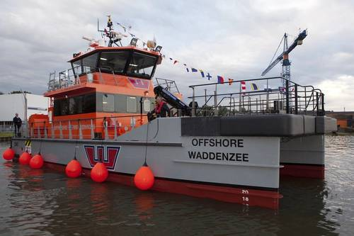 Offshore Waddenzee at Damen Oranjewerf Amsterdam (Photo: Damen)