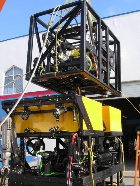 Fukada 100HP ROV with TMS