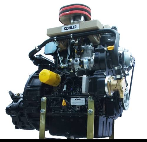 Kohler engine (image courtesy of Mermaid Marine)