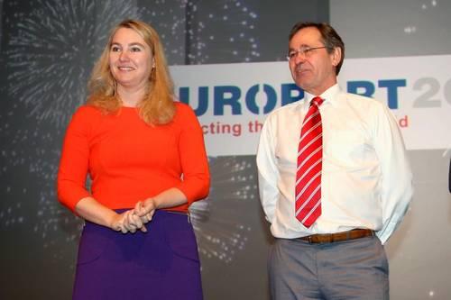 Melanie Schultz van Haegen and Govert Hamers
