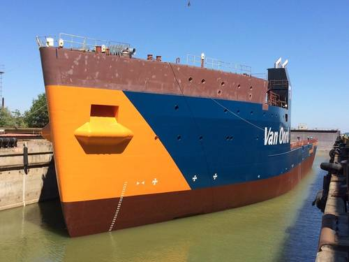 Van Oord's new cable-laying vessel Nexus (Photo courtesy of Damen)
