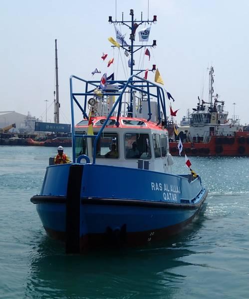 Photo courtesy of Nakilat Damen Shipyards