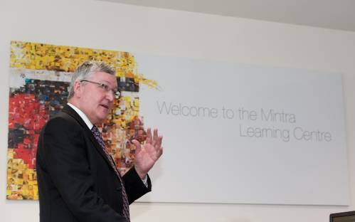 Fergus Ewing, the Minister for Energy, Enterprise and Tourism opened the Mintra Learning Centre this week.