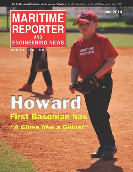 "First baseman Robert Howard has ""a glove like a gillnet."
