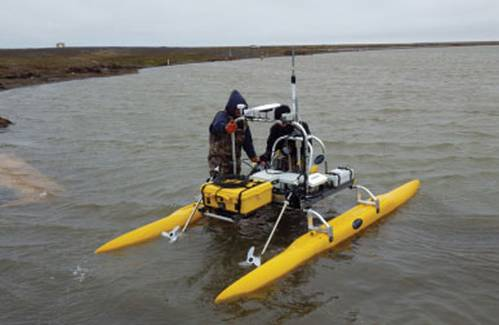 "SeaRobotics ""Collapsible"" USV Aids in Arctic Survey."