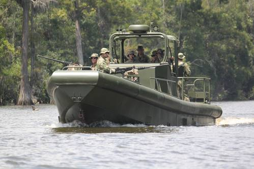 Silver Ships completed construction for Riverine Patrol Boats, awarded through the Navy's FMS for delivery to the Philippines.