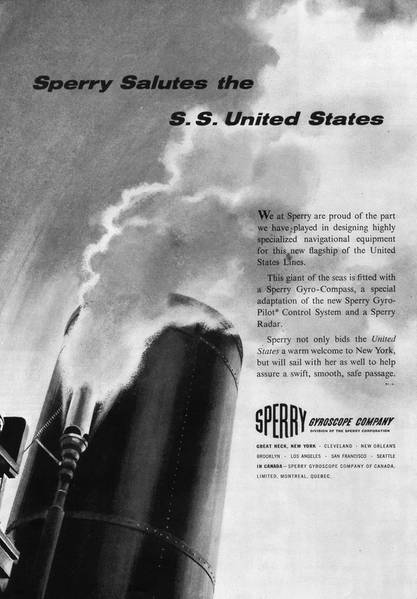 Coverage of the SS United States was voluminous, including the pages of the MR July 1, 1952 edition,  in the years leading up to and including its maiden voyage.