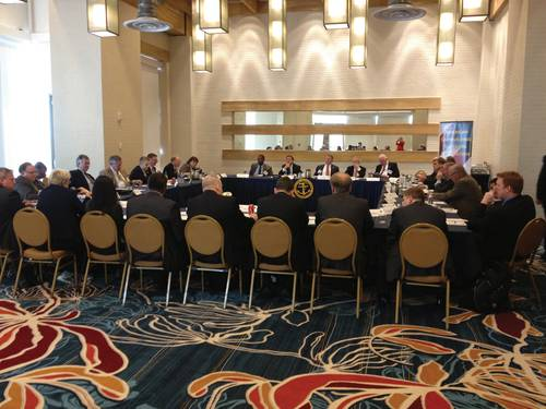 The American Shipbuilding Suppliers Association (ASSA) hosted  roundtable.