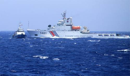 Photo courtesy Vietnam Coast Guard