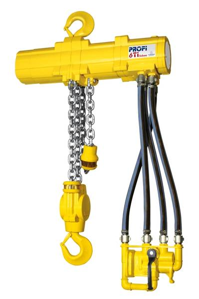 J D Neuhaus Profi 6 TI hoist, purpose designed for subsea operation.