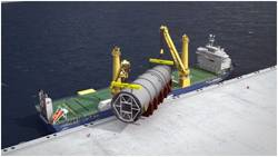 The K-3000 heavy lift vessels have a lifting capacity of 3,000t in tandem lift. (Photo: Jumbo Shipping)