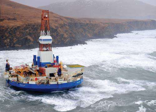 Kulluk became grounded on New Years Eve, 2012, and quickly became a lightning rod for lack of oversight into oil drilling in the Arctic.
