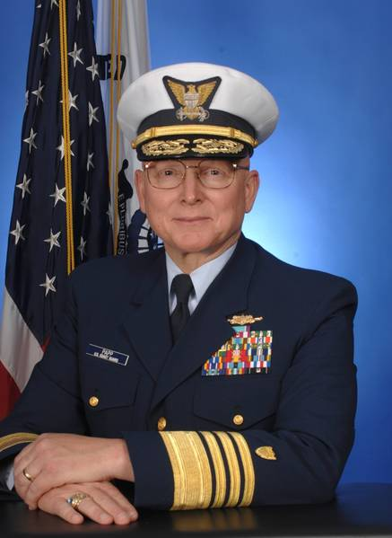 Admiral Robert J. Papp: Photo credit USCG