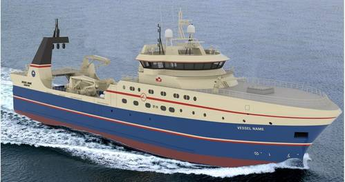 The ST-118 is for the Greenland ship owner Sikuaq Trawl A/S and Christensen family.