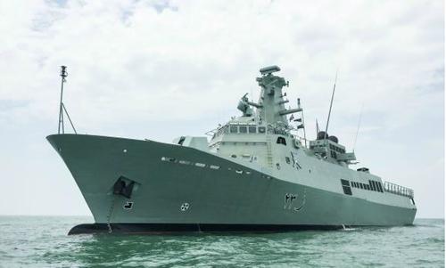 RNOV Khassab is the fourth patrol vessel (Photo: ST Marine)