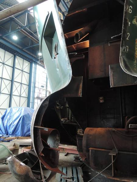 Detail of the stern of NOR 204 (Photo: Kooiman)