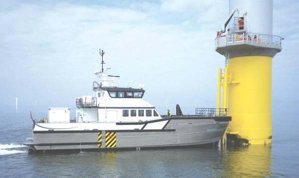 Ένας σχεδιασμός νότιων σκαφών μήκους 26 μέτρων (Φωτογραφία courtesy Blount Boats)