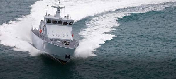 Ένα περιπολικό σκάφος που κατασκευάστηκε από τον Luerssen (CREDIT: Luerssen)